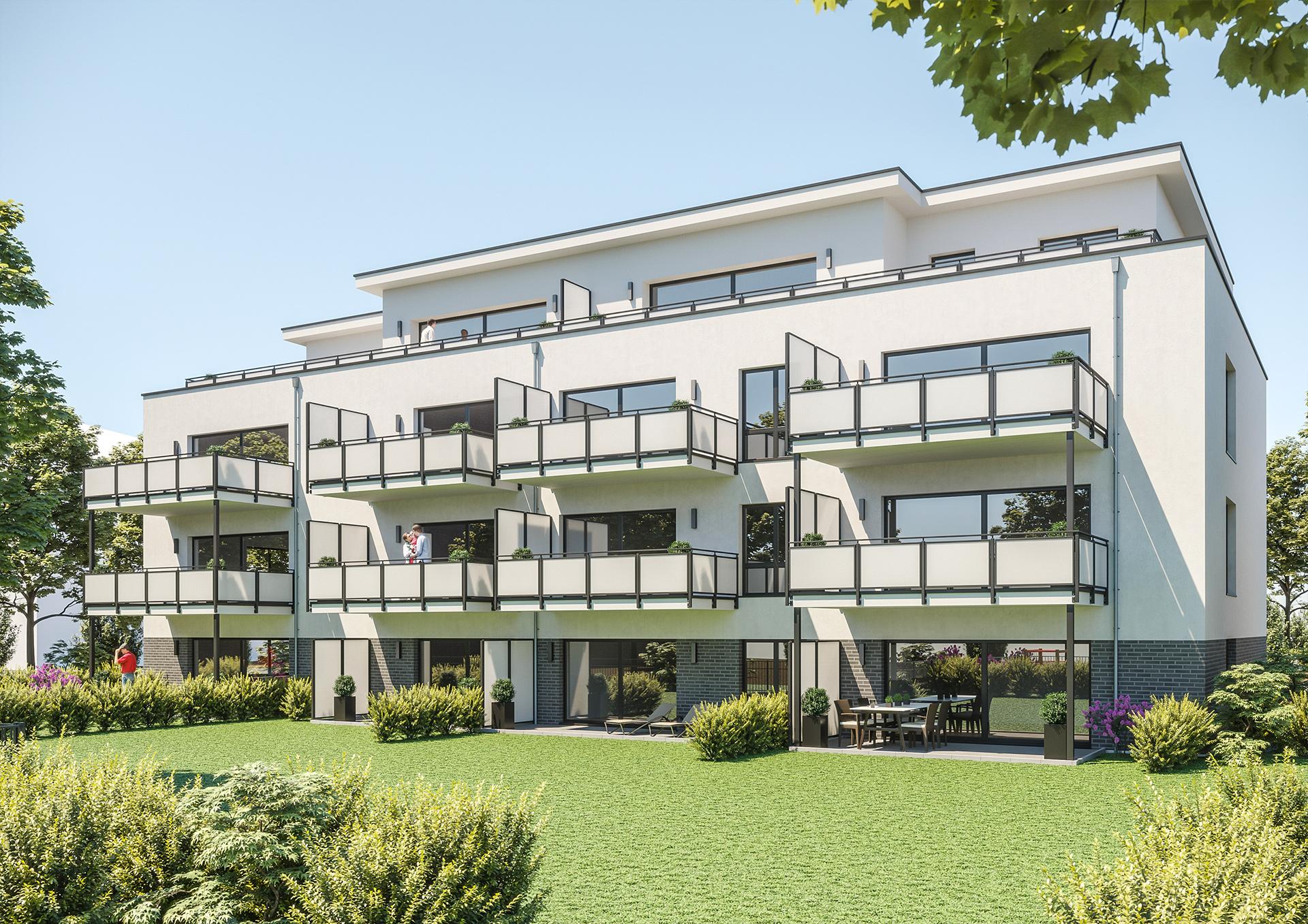 Neubau Mehrfamilienhaus in Essen Frintop • Nikolić + Rosenke GmbH