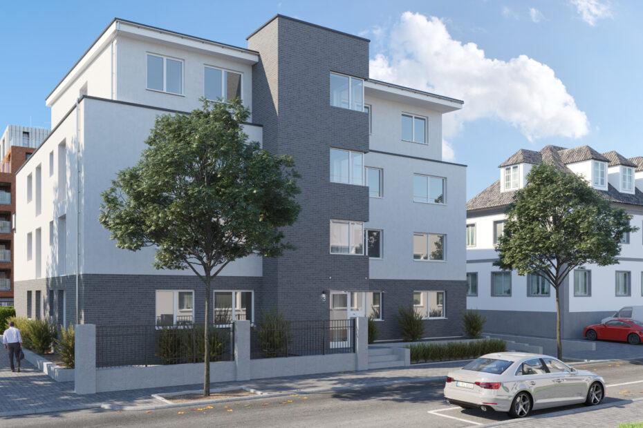 Neubau Mehrfamilienhaus in Bottrop-Stadtmitte