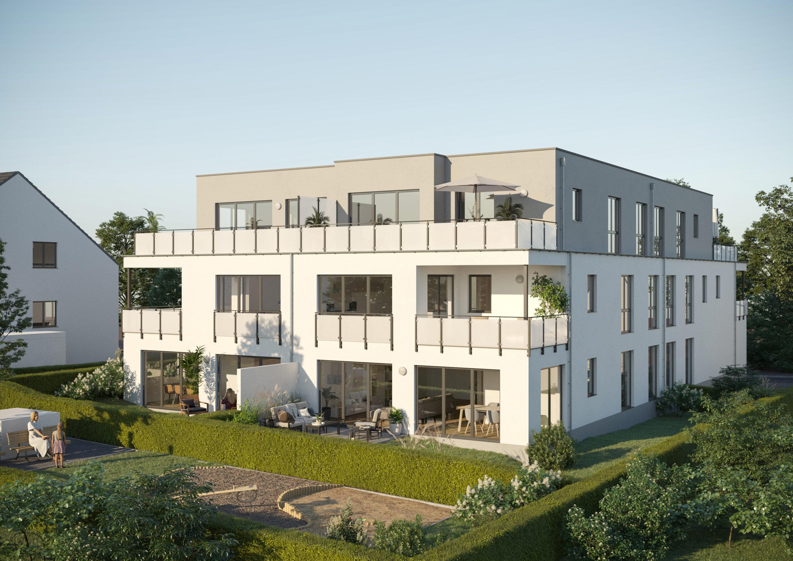 Neubau Mehrfamilienhaus in Essen-Schönebeck (Vitales Wohnen)