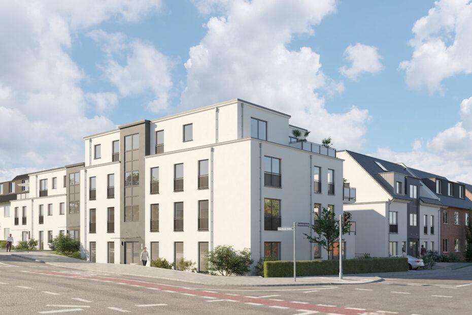 Neubau Mehrfamilienhaus in Bottrop-Fuhlenbrock