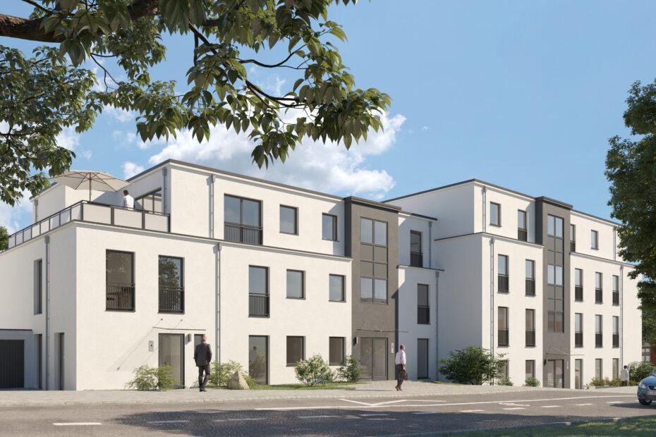 Neubau von 2 Mehrfamilienhäusern in Bottrop-Fuhlenbrock