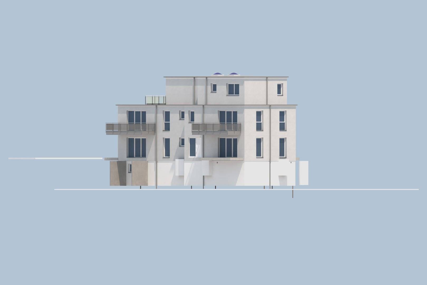 Neubau Mehrfamilienhaus in Essen-Schönebeck